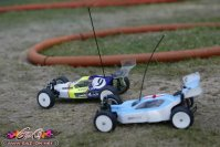 Lire l'article EC 2005 - day 4 - 4wd race : Free practice pictures | photos des essais libres