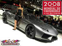 Lire l'article Mondial de l'auto 2008 de Paris