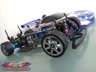 Ouvrir la galerie photos Yokomo YR4 M2 – vintage rc - Piste DTM – sedan four wheel drive